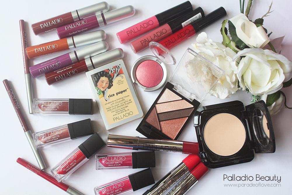 Palladio Makeup Review