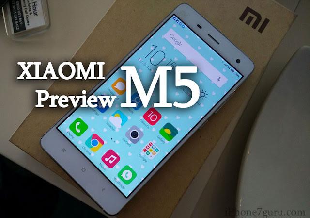 XIAOMI M5 Preview