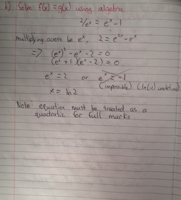 Leaving Cert Project Maths Paper 1 Solutions 4