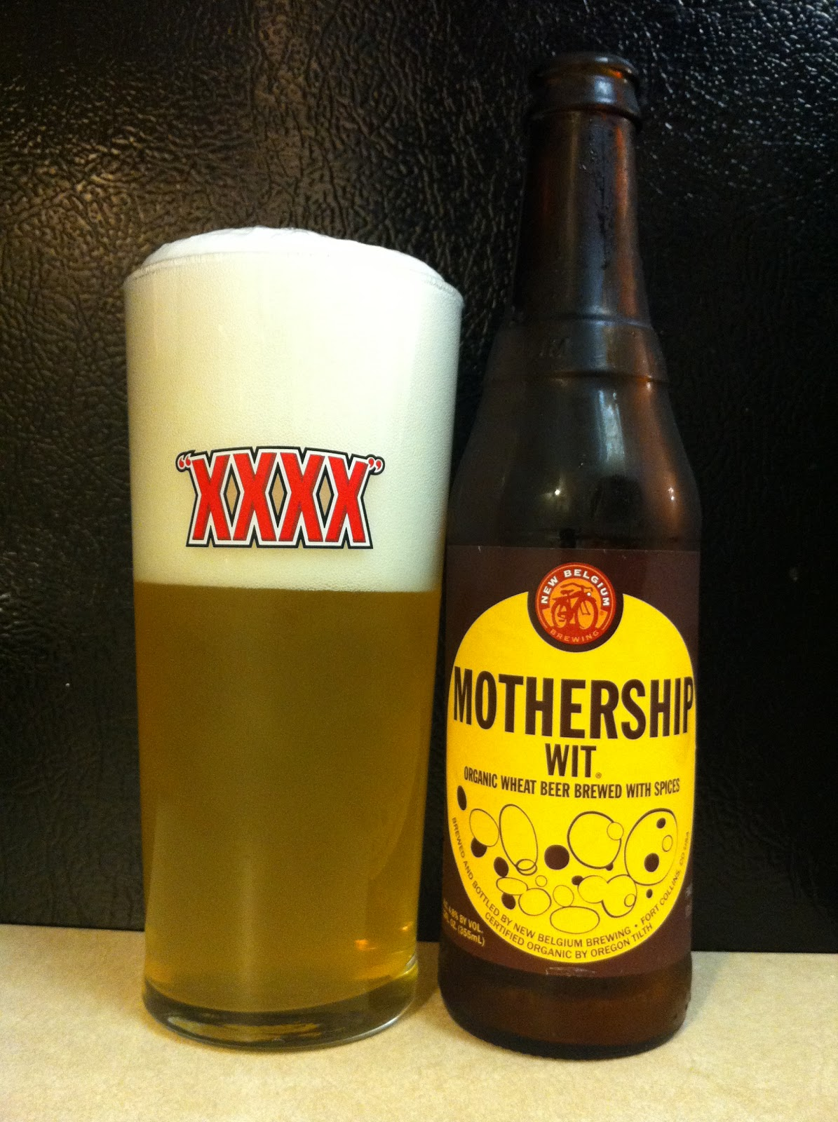 The BR Beer Scene: Reviews: New Belgium Mothership Wit