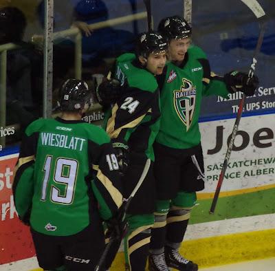 WHL: Fonstad Heats Up For Raiders, Scores Twice In Saturday's Win