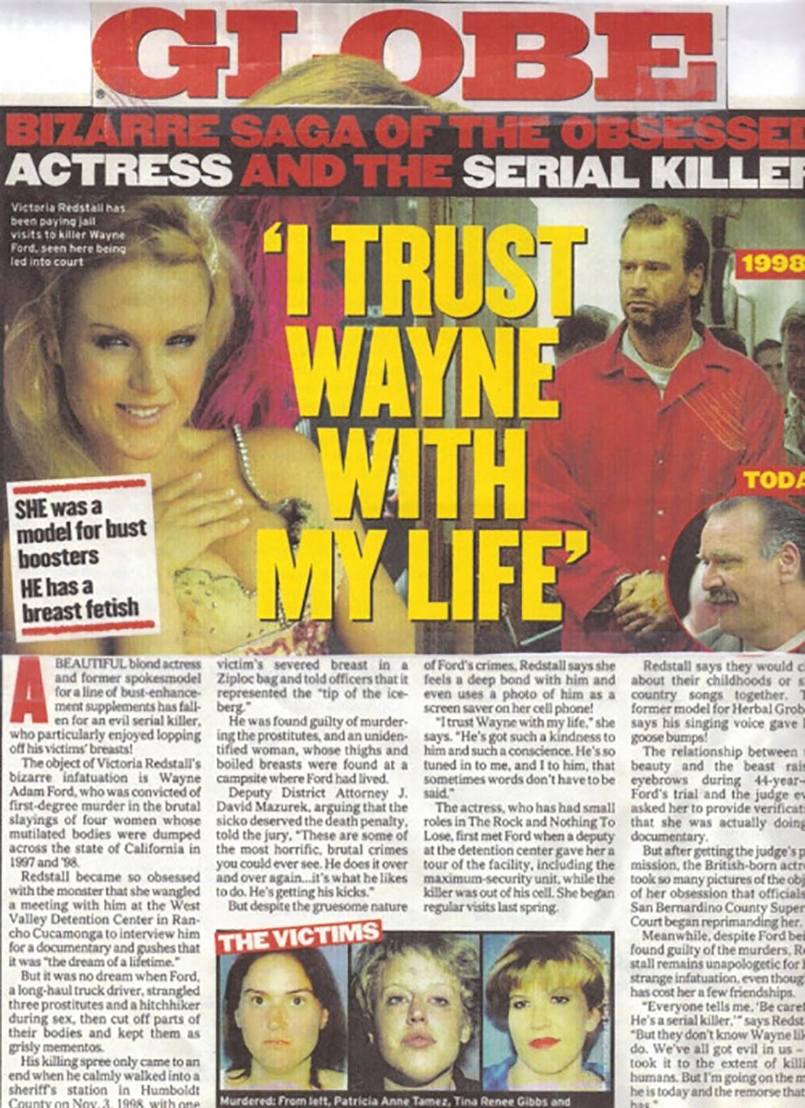 Seriall killer groupies, tietes de seriall killers, assassinos em série