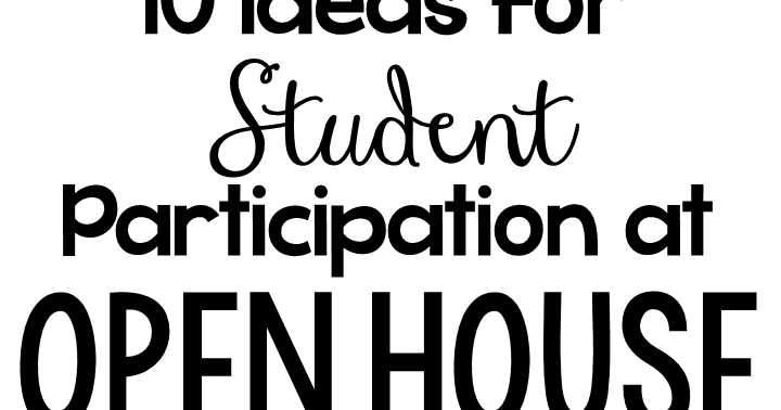 The Primary Peach: Ten ideas for student participation