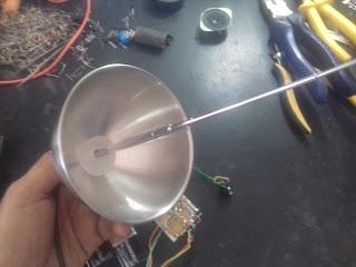 antena iônica caseira