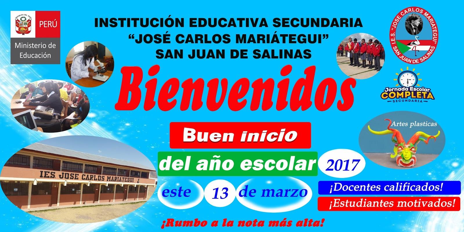 """IES """"JOSÉ CARLOS MARIÁTEGUI"""" - SAN JUAN DE SALINAS"""