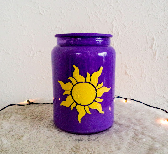 DIY Tangled Inspired Jar