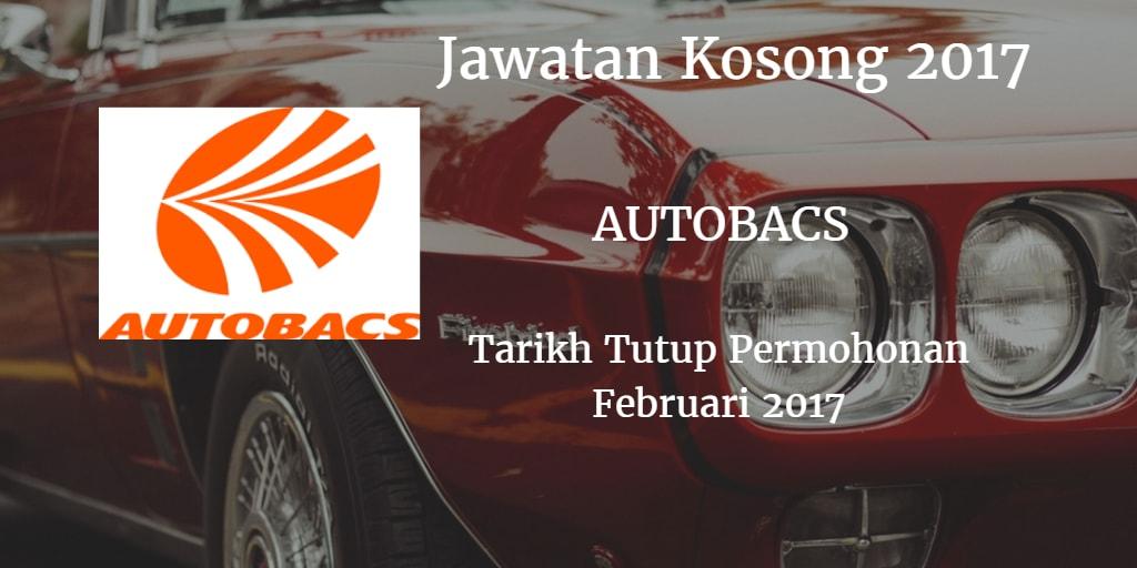 Jawatan Kosong AUTOBACS Februari 2017