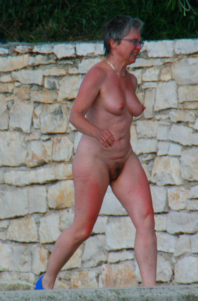 Older nudists photos prompt reply