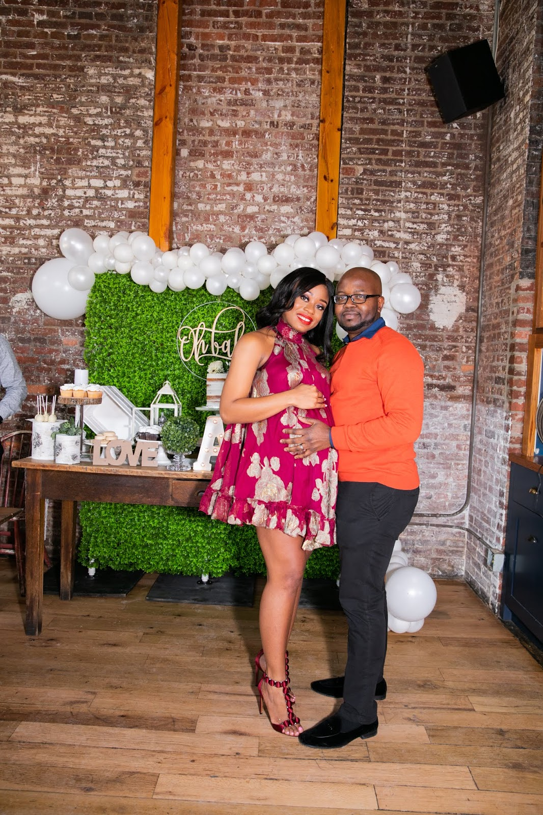 Stella-Adewunmi-of-Jadore-Fashion-share-baby-shower-outfit-and-family