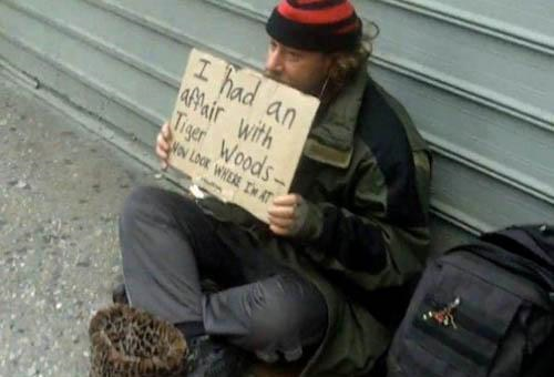 Mizpedia: Most Funny Homeless Signs