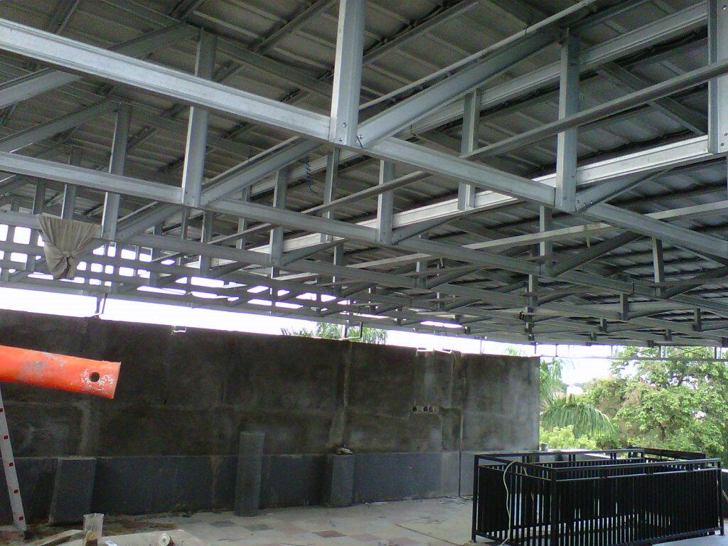 baja ringan kotak canopy carport,kanopi: bina karya foto/gambar ...