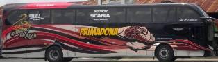 rute dan tarif bus Primadona jurusan Makassar Toraja