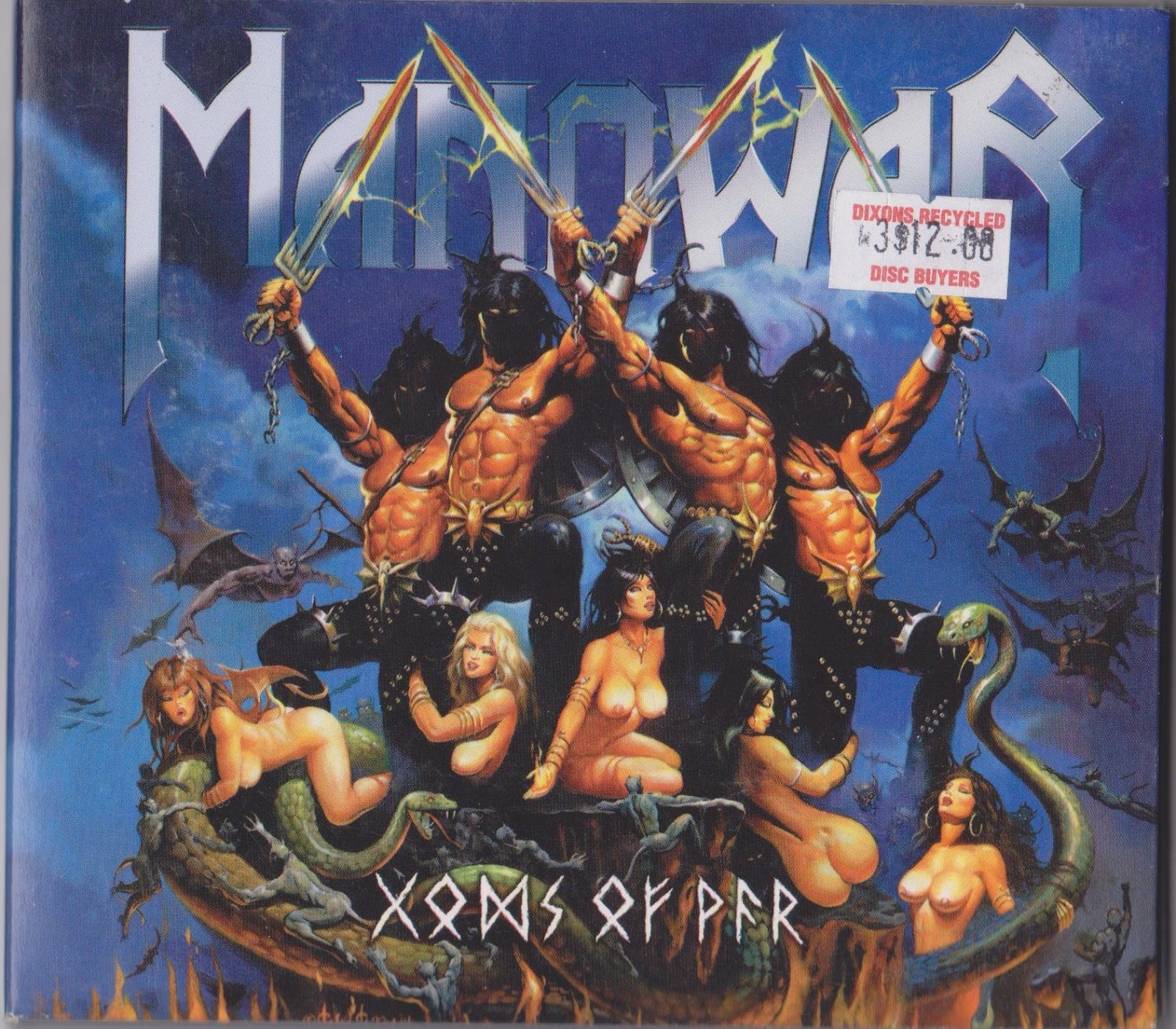 Alternative + Underground Music: Manowar: Gods Of War (is