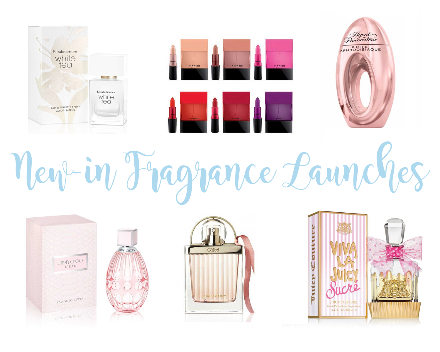 New-in Fragrance Launches: December