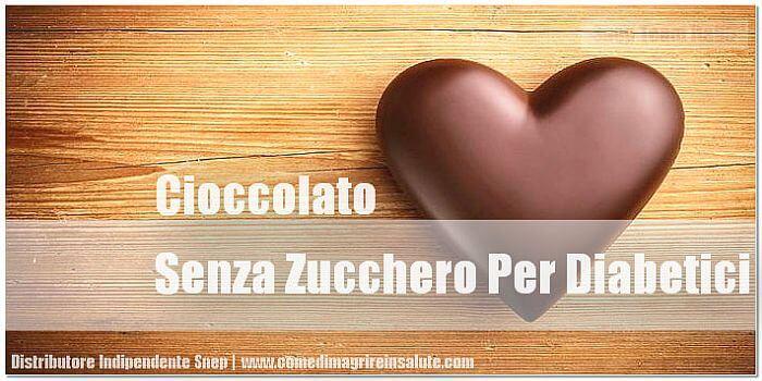 Cioccolato Senza Zucchero Per Diabetici