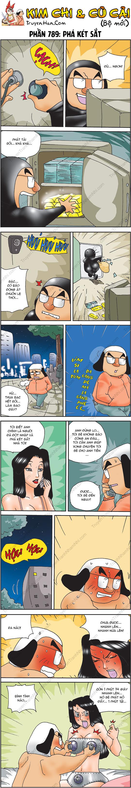 Kim Chi Và Củ Cải Phần 789: Phá két sắt
