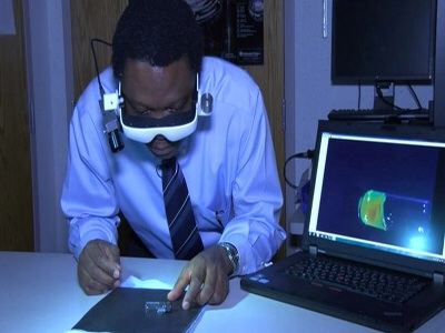 nigerian scientist cancer glasses