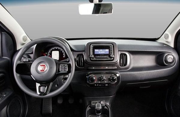 Interior Fiat Mobi Way