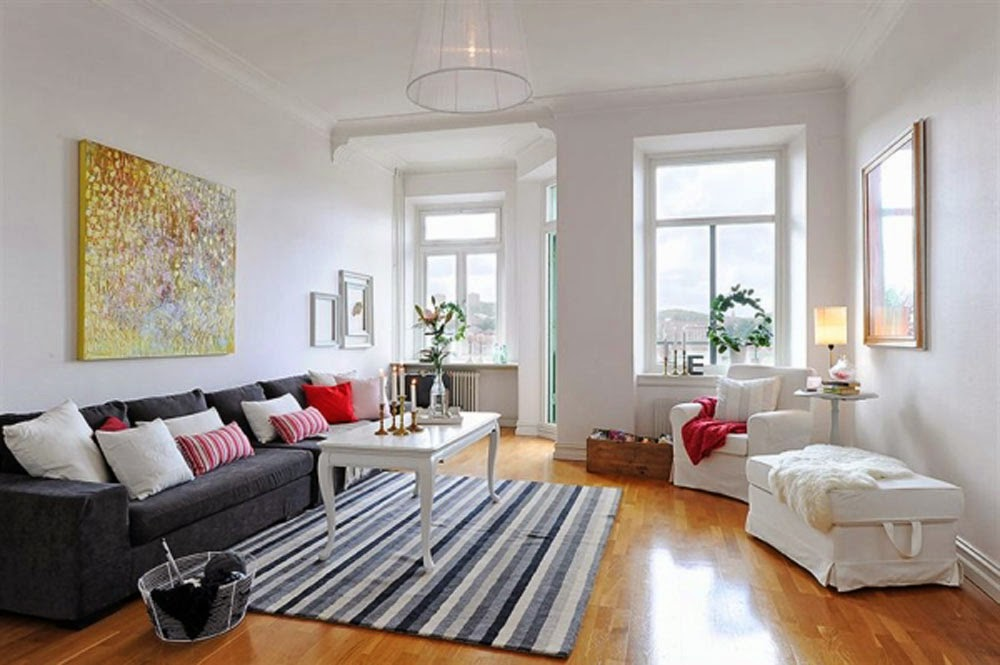 20 Gambar Desain Ruang Keluarga Minimalis Sederhana  Ayeeycom