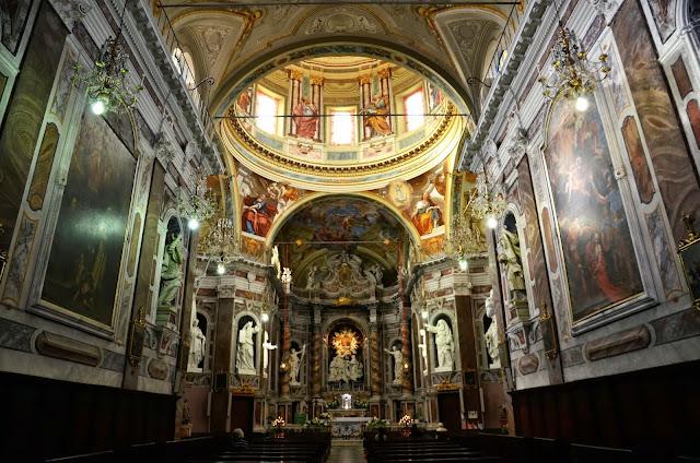 산레모 산위의 성당