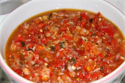 Delicious simple chili sauce recipe