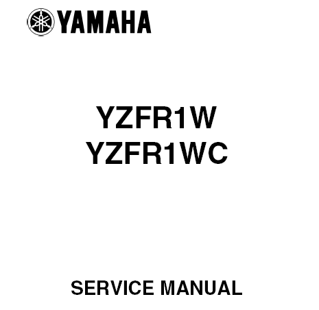 2004 Yamaha YZF-R1 Service Manual