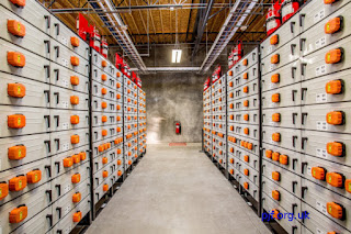 Lithium-Ion battery store