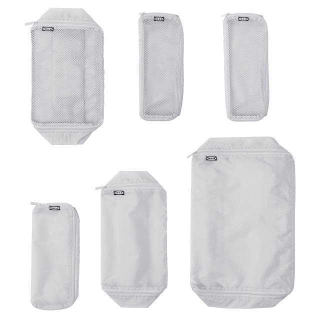 Ikea travel/camping bags