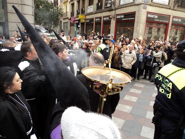 Procesiones para el Sábado Santo en Madrid. Semana Santa 2013