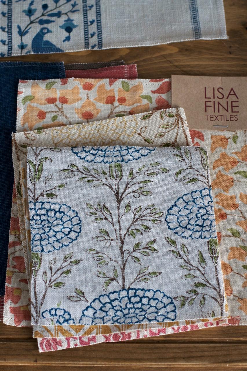 Textílhönnuðurinn Lisa Fine · Lísa Hjalt