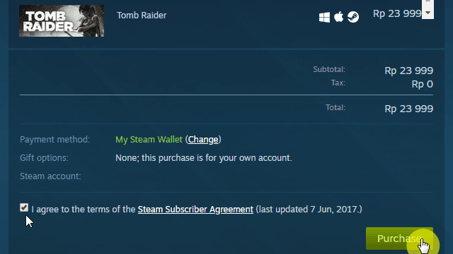 Beli game Tomb Raider di Steam
