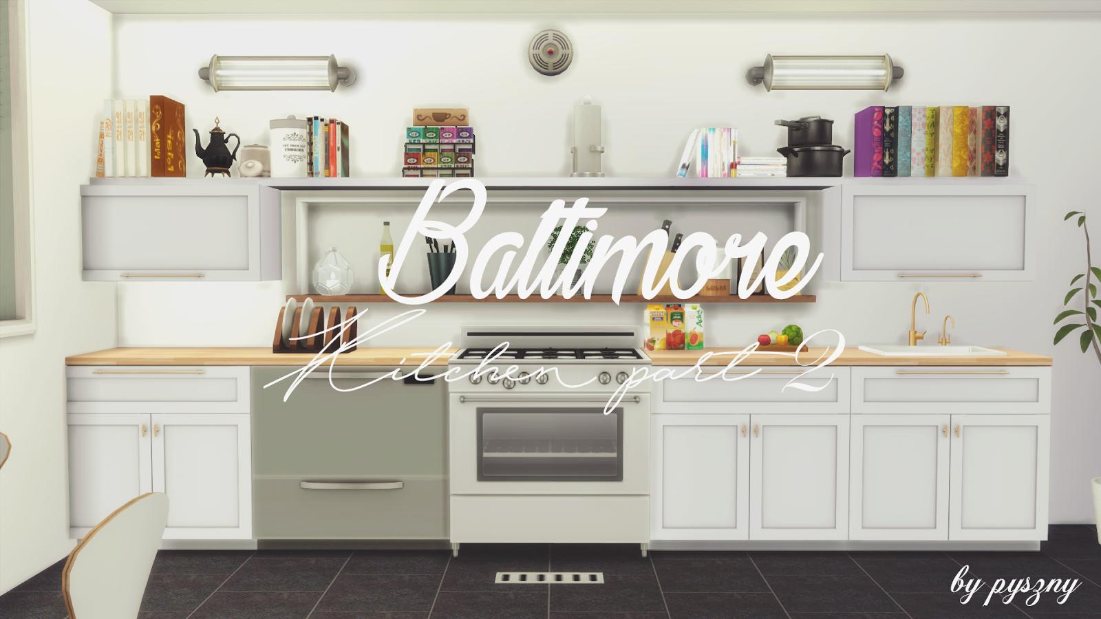 Baltimore Kitchen Part 2 Updated