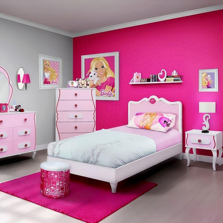 Barbie theme little Girls Bedroom