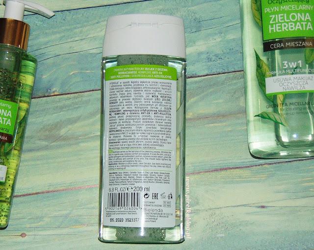 Bielenda, Zielona Herbata Zielona - Hydrolat 3w1