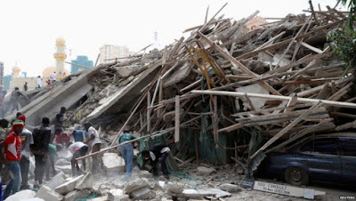 4 Die, Many Trapped As 5 Storey Building Collapse In Lekki This Morning