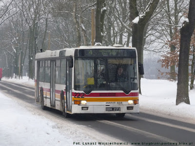 Ikarus 412 #222 z MZK Kędzierzyn-Koźle