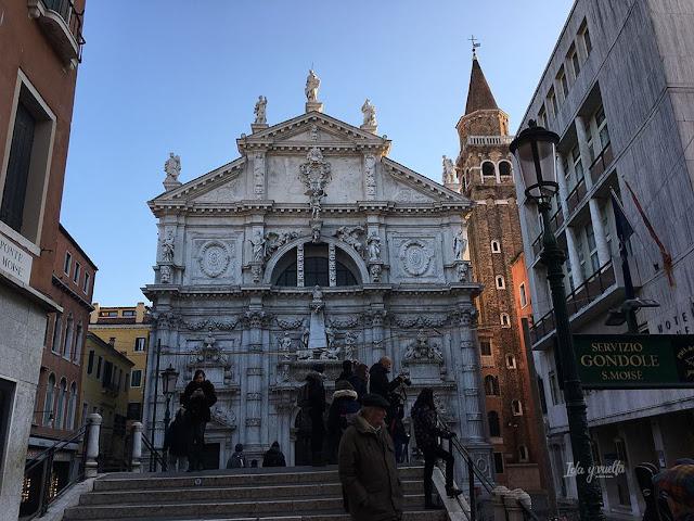Venecia fotos San Moisé