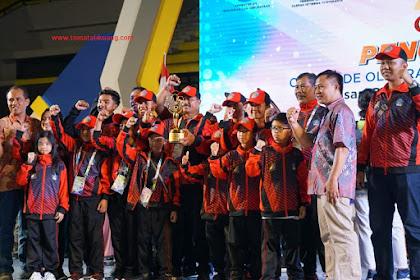 Provinsi Bali Menjadi Juara Umum O2SN 2018, Inilah Total Medalinya