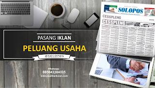 iklan peluang usaha di Solopos