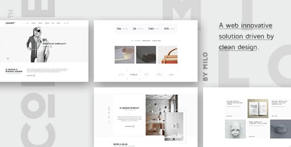 Download Concept Design-Driven Multipurpose HTML5 Template