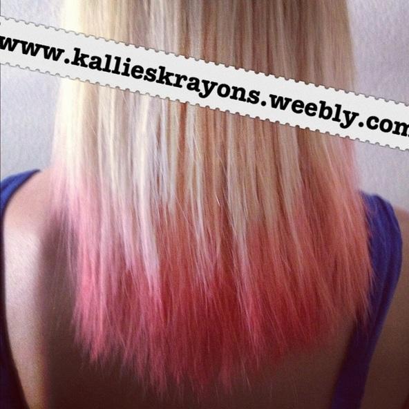 Diva Tube: [DIY] Temporary Hair Dye (Kool Aid)