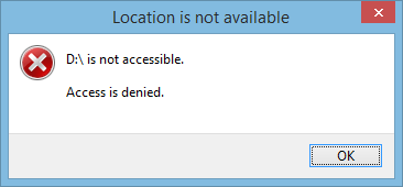 Flashdisk, Disk, Access, Denied, Not Access