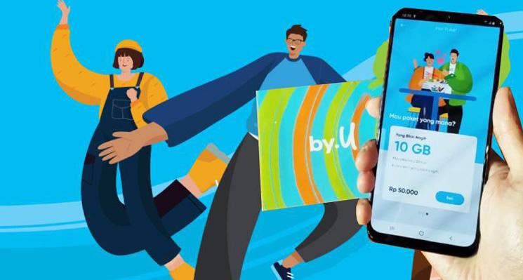 by.U Provider Serba Digital Pertama di Indonesia