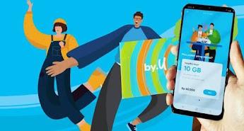 Cara Daftar dan Beli Kartu by.U, Provider Serba Digital Pertama di Indonesia