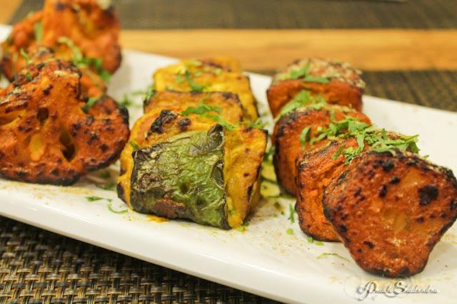 Tandoori Platter Vegetarian