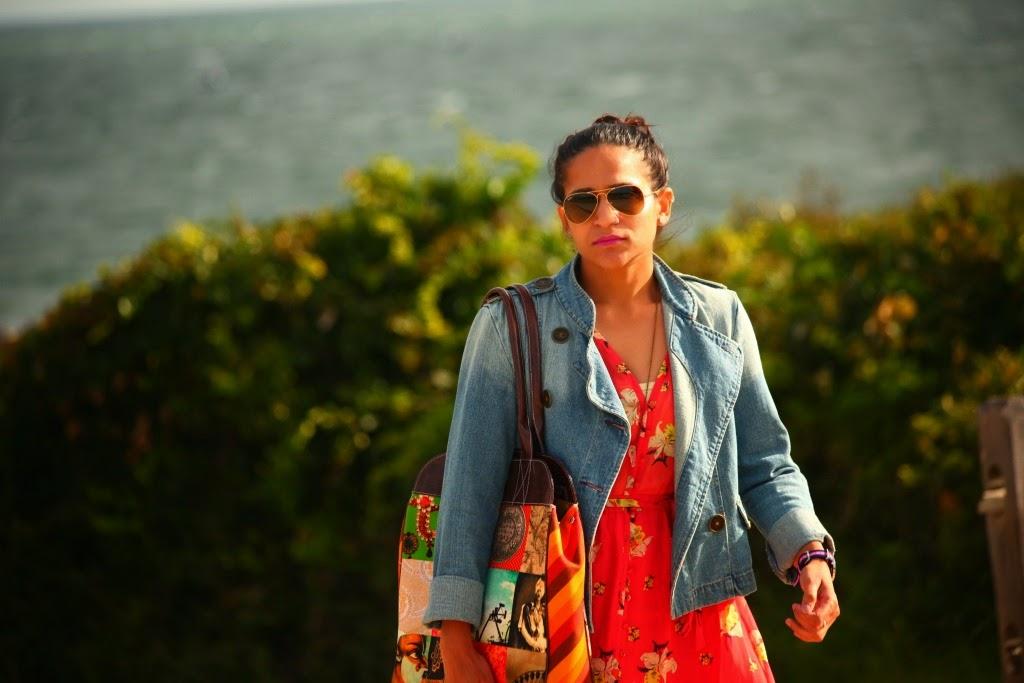 Fall Bucket List, Summer Dress with Fall Layering, Tanvii.com