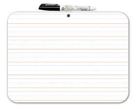 Lined White Board