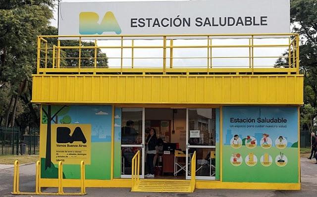 Las Estaciones Saludables festejan sus primeros cinco años