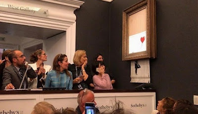 Lukisan Mahal Ini Hancur Sendiri Setelah Terjual Di Lelang