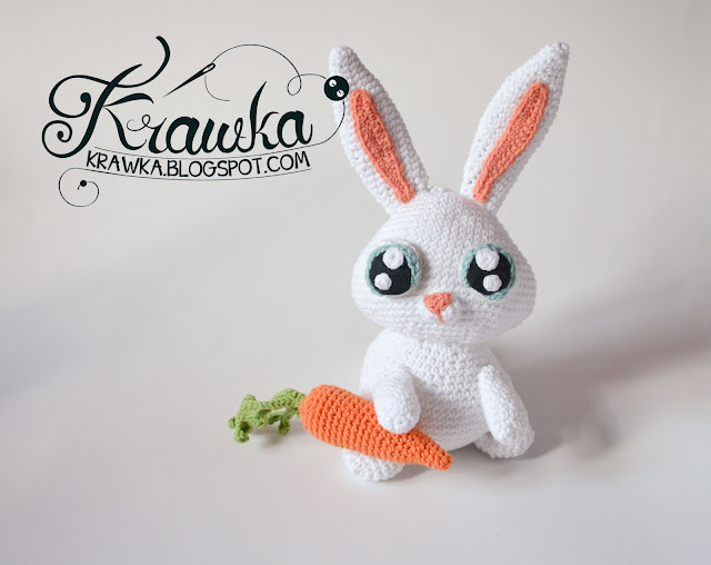 Krawka: Snowball rabbit white bunny crochet pattern from secret life of pets movie